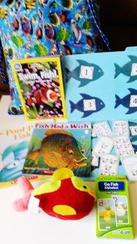 Fish- Take Home Literacy and Math Bag