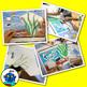 Fish Tank Art Craft -  fish, tank, air pump, gravel, plant, photos, worksheet.