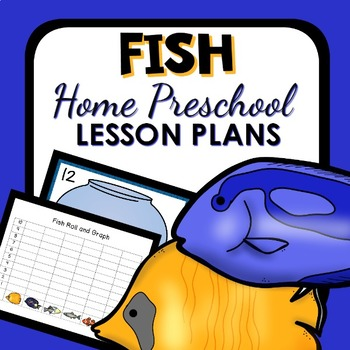 Fish Theme Home Preschool Lesson Plans