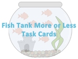 Fish Theme More or Less Task Cards