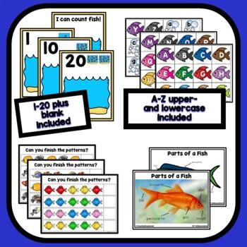 Fish Theme Preschool Lesson Plans