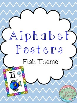 Fish Themed Alphabet Posters
