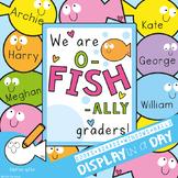 Fish Themed Bulletin Board or Classroom Door Display