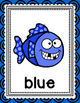Fish Color Word Posters