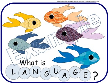 Fish-Themed Language Domains for Bulletin Board