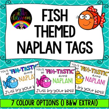 Fish Themed NAPLAN Tags