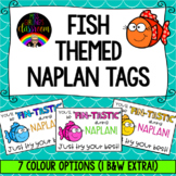Fish Themed NAPLAN Tags
