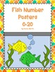 Fish Themed Number Posters 0-20