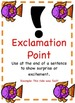 Fish Themed - Punctuation Posters