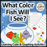 Fish Themed: What Color Fish Will I See? (Learning Cube, Roll, Graph and Count)