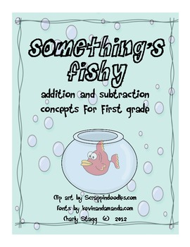 MATH: Fish Themed Addition, Subtraction, Graphing and More