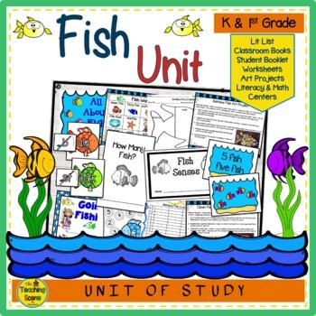 Ocean Theme:  Fish Unit