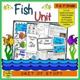 Fish Unit: Ocean Theme Centers & Activities