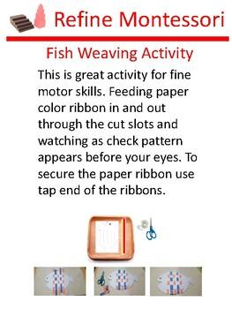 Fish Weaving Activity