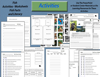Fish – What Makes a Fish a Fish (Nonfiction Science and Literacy Unit)
