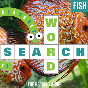 Fish Word Search - Primary Grades - Wordsearch Puzzle