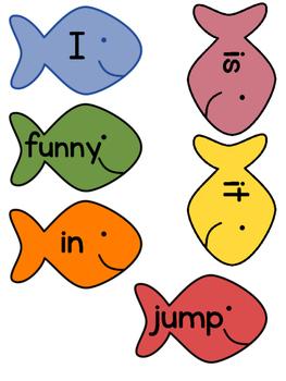 Fish Word Wall Set