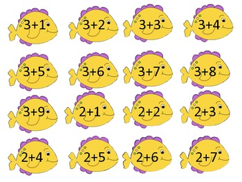 Fish-a-licious Addition Game
