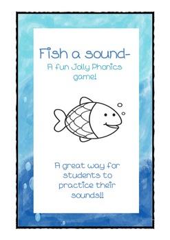 Fish a sound- Jolly Phonics