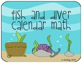 Fish and Diver Calendar Math Mega Pack