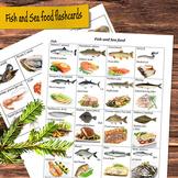Fish and Sea Food Flashcards