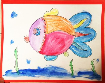 Fish coloring Free F