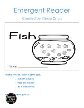 Fish - emergent reader
