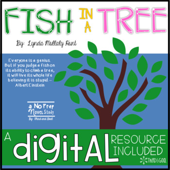 Fish in a tree by third and goal teachers pay teachers for Fish in a tree