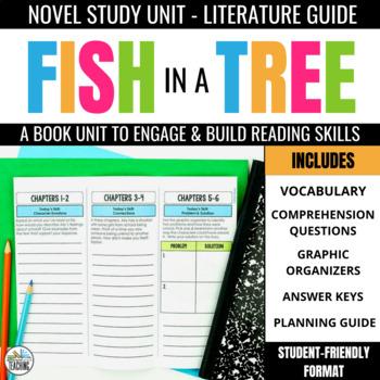 Fish in a Tree Foldable Novel Study Unit
