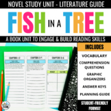 Fish in a Tree Foldable Novel Study Unit