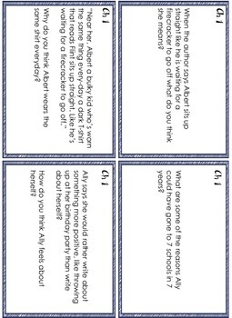 Fish in a Tree Novel Study and Task Cards
