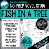 Fish in a Tree Novel Study - Distance Learning - Google Classroom