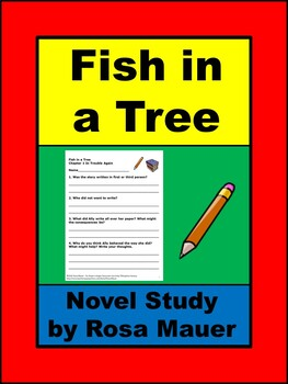 Fish in a Tree Book Unit