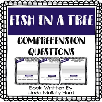 Fish in a Tree - Comprehension Questions