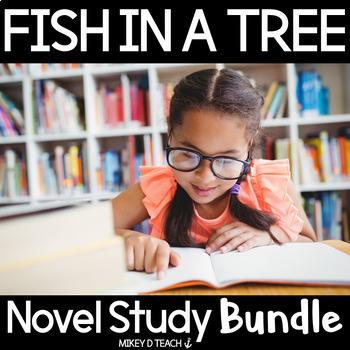 Fish in a Tree Novel Unit {BUNDLE}
