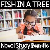 Fish in a Tree Novel Study and Vocabulary Study BUNDLE | D