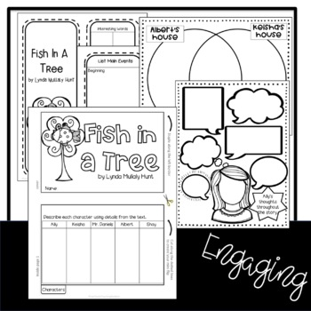 Fish in a Tree Novel Lap Book and STEM Challenges