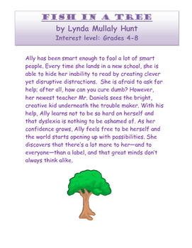 Fish in a Tree: Novel Study Guide with Signposts (Common Core Aligned)