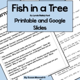 Fish in a Tree Questions and Journal Responses Printable a