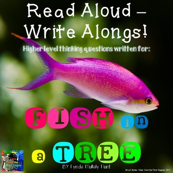 Fish in a Tree Read Aloud Write Along