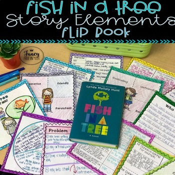 Fish in a Tree Story Elements Flip Book