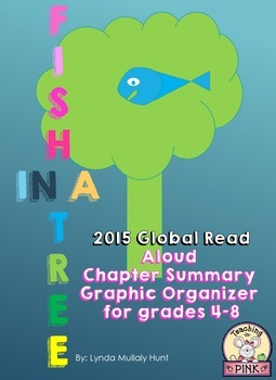 Fish in a Tree Summary Graphic Organizer