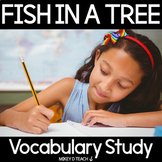 Fish in a Tree Vocabulary Study