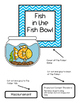 Fish in the Fish Bowl File Folder Game
