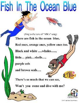 Fish in the Ocean Blue