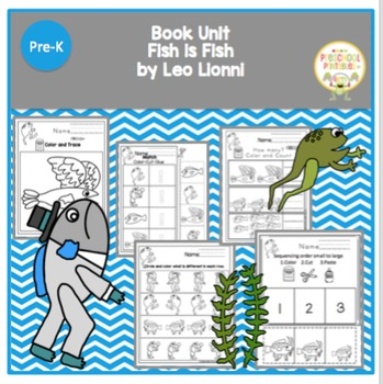 Fish is Fish by Leo Lionni Book Unit