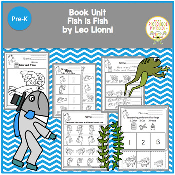 Fish Is Fish Leo Lionni Teaching Resources | Teachers Pay Teachers