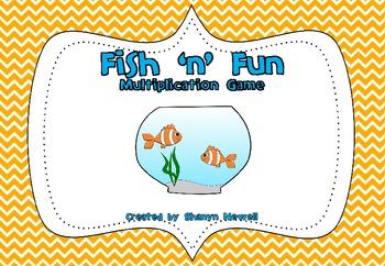 Fish 'n' Fun Multiplication Game