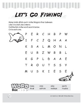 Fish of Niagara Falls: Puzzles to Test Reading Comprehension for Grades 1–3