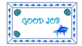 Fish theme behavior clip chart